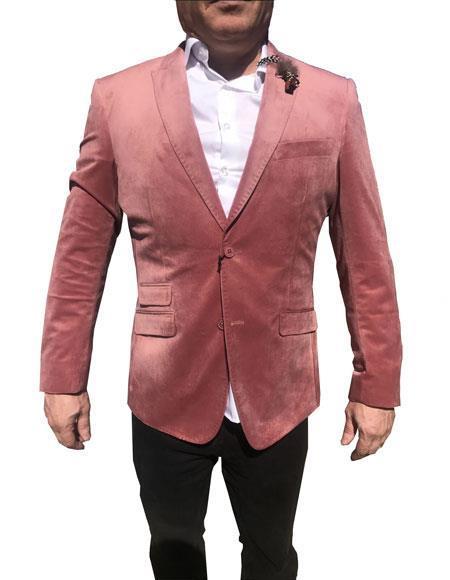 Men's Velvet Blazer ~ Sportcoat velour Men's blazer Jacket