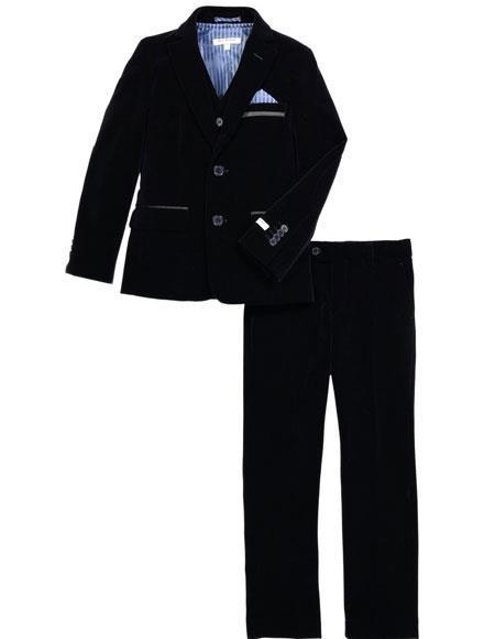 Dark Navy velour Men's Velvet blazer Jacket for Men