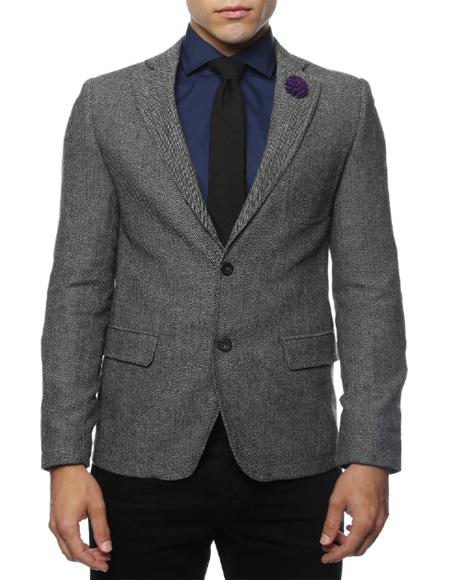 Grey Fully Lined Peak Blinder Custom Vested Suit