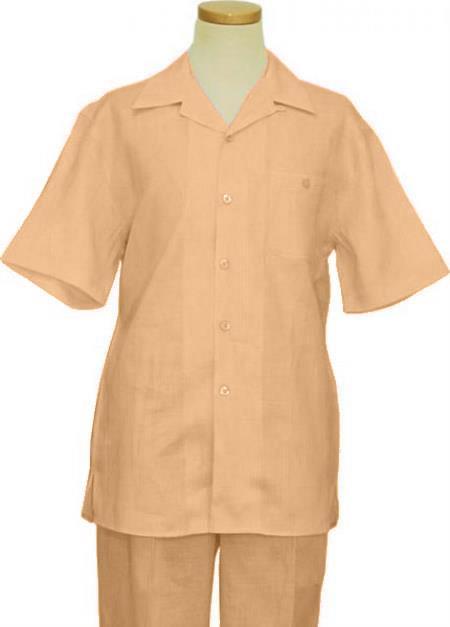Linen Walking Suit Natural