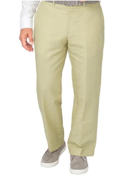 Men's Linen Pants Mint