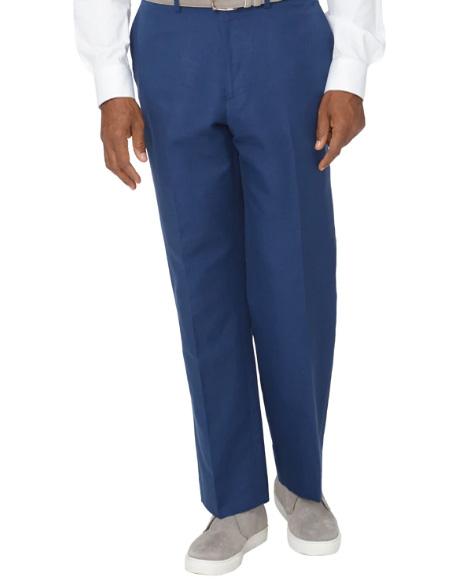 Men's Linen Pants Navy