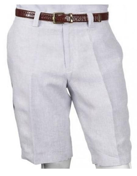 Men's Linen Pants White