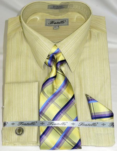 Banana Colorful Men's Dress Shirt