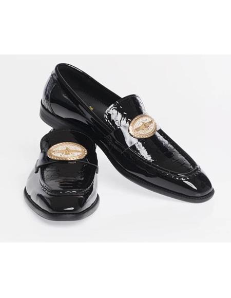 Classic Stylish Dress Loafer - Black