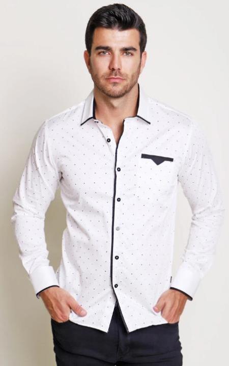 Audacious - Mens Dress Shirt