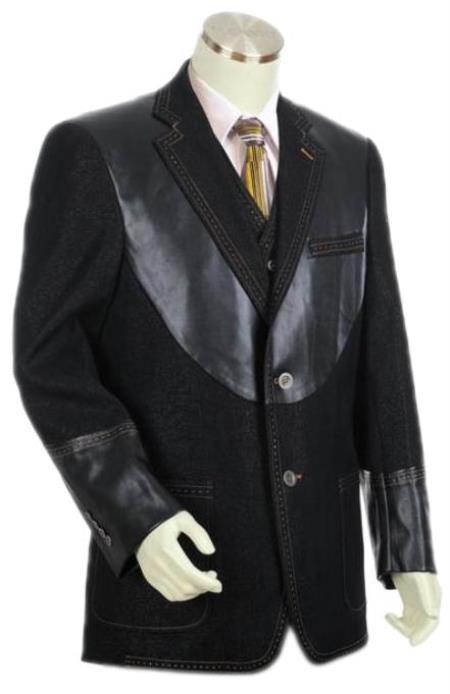 Mens Superior Quality Denim blazer