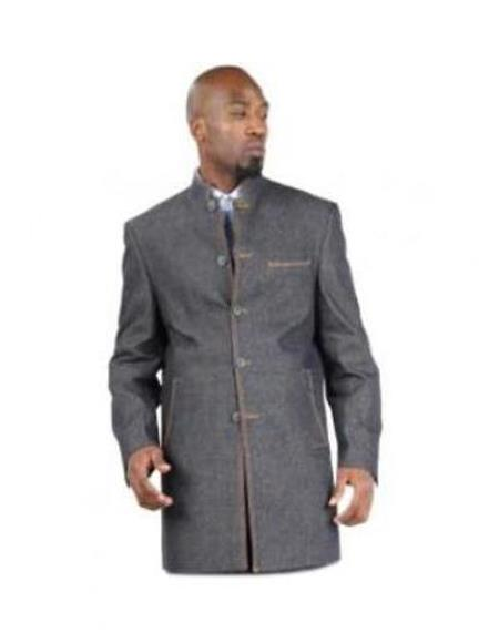 Men's 100% cotton Fully lined Denim blazer