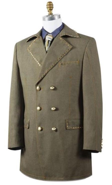 Mens Green Dress Shoes Mens Cotton Denim Jean fabric Denim blazer