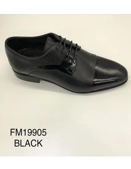 Tuxedo Shoes - Formal Shoes- Men's Wedding Shoe - Giovanni Testi 100% Patent Leather Shoes
