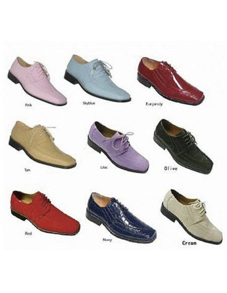 Mens Mystery Colorful Dress Shoes