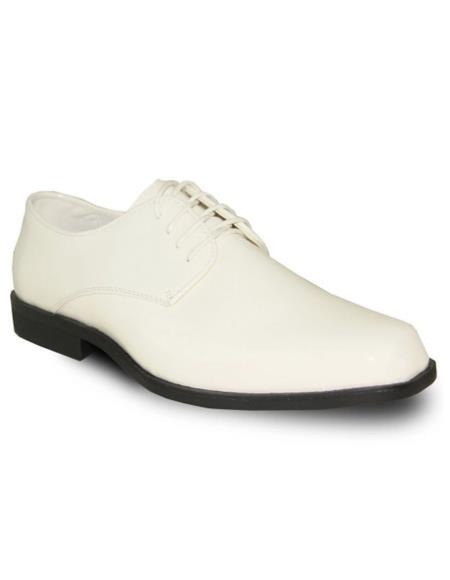 Men's Ivory Vangelo Tuxedo Shoes