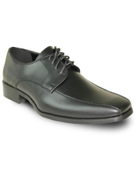 Men's Black Matte Vangelo Tuxedo Shoes