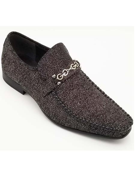 Men's ZOTA Shoes - Leather Shoes - Fashion Dress Shoe - Slip On Shoe