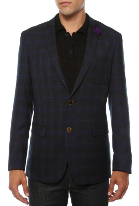 Men's Red Blazer - Red Sport Coat