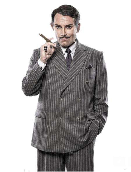 Gomez Addams Suit - Gomez Addams Custom | Addams Family Costume - Men's Grand Heritage The Addams Familys