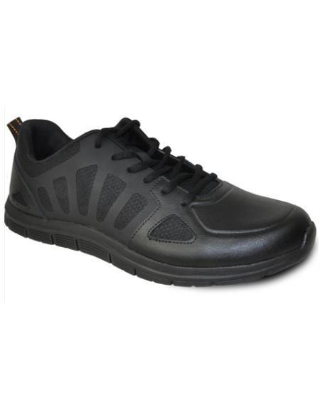Men's Wide Width Dress Shoe Black