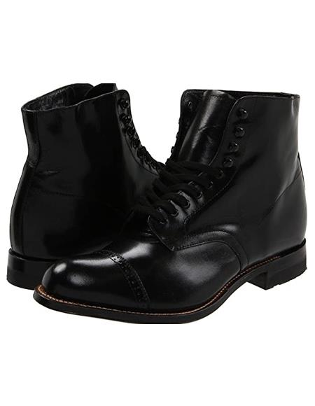 Mens Dress Ankle Boots Mens Peaky Blinder Boots
