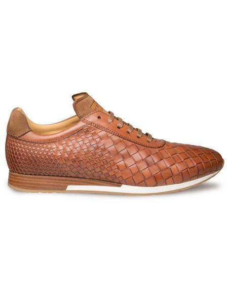 Mezlan Dress-casual Sneaker Cognac
