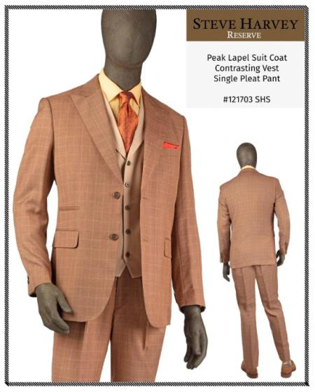 Steve Harvey Suits Copper
