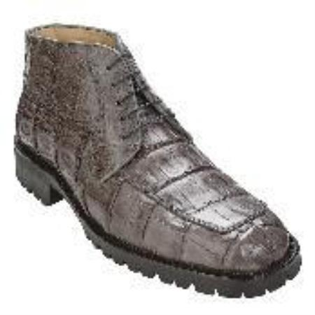 SKU#DB5792 Gray Genuine Crocodile Boot $479