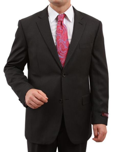 SKU#M149000 Mens 2 Button Front Closure 37 Inch Inseam Suit $139
