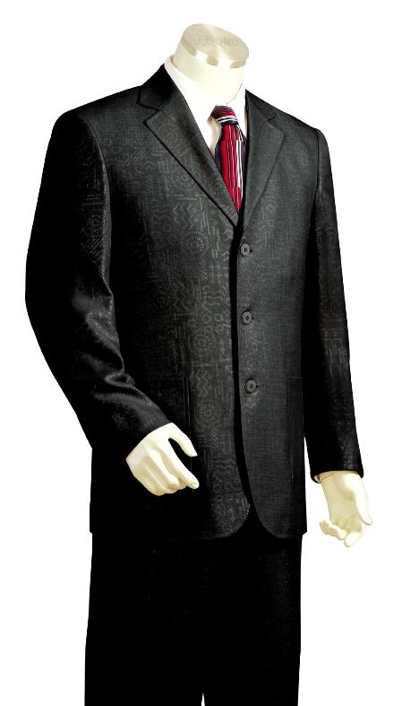 SKU#TY9034 Mens 3 Button Fashion Zoot Suit $175