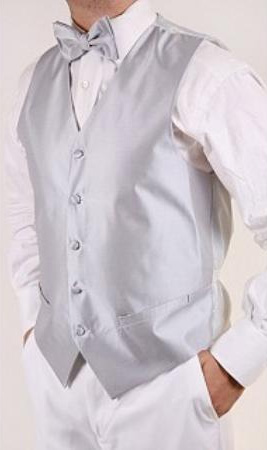MensUSA.com Mens Grey 4 piece Vest Set(Exchange only policy) at Sears.com