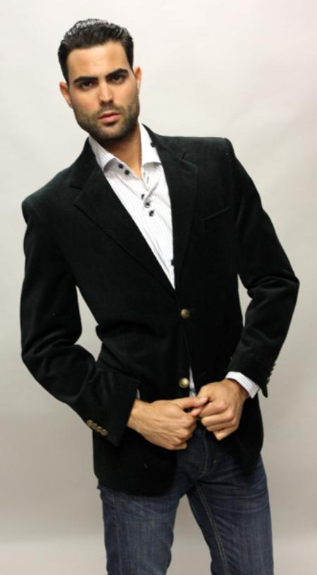 SKU#DG5201 Mirage Color Black Sport Coat Its One of a Kind Super 150s For All Occasion $89