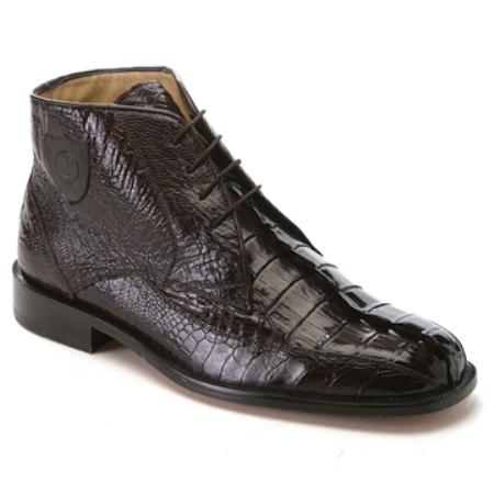 MensUSA Belvedere Mens Brown Caiman Hornback and Ostrich at Sears.com