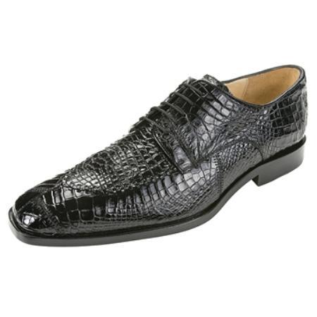 MensUSA Belvedere Mens Black Genuine Crocodile at Sears.com