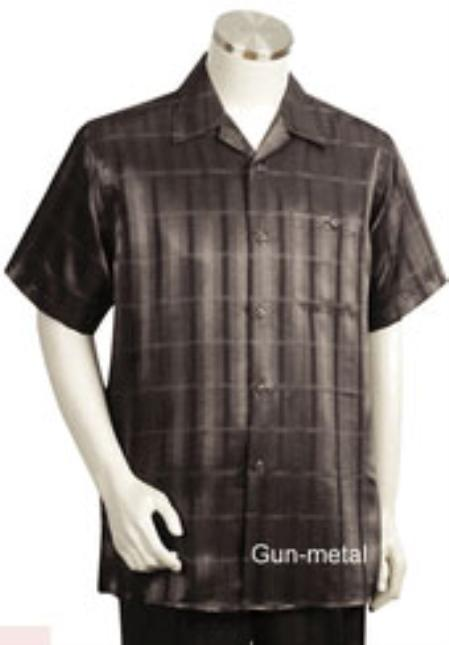 MensUSA.com Mens Short Sleeve 2piece Walking Suit(Exchange only policy) at Sears.com