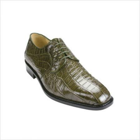 SKU#KA4900 Belvedere Panda Oxford in Olive $508