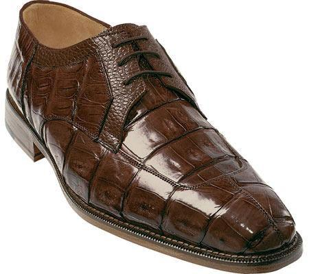 SKU#KA728 Belvedere Susa - Brown Crocodile