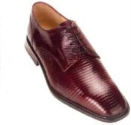 SKU#KA234 Belvedere Olivo All-Over Genuine Lizard Shoes $219