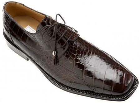 SKU#KA402 Ferrini Black Cherry All-Over Genuine Alligator Shoes