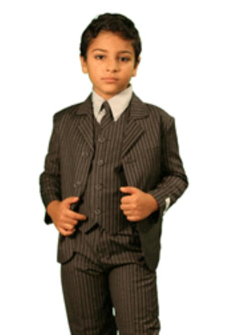 Vintage Style Children's Clothing: Girls, Boys, Baby, Toddler Boys 3 Piece Fashion Designer Suit $79.00 AT vintagedancer.com