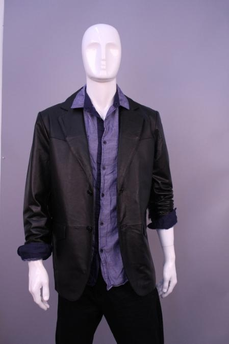 SKU#WE2554 Jackets & Outwear Black $159