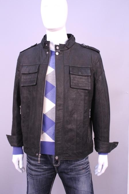 SKU#DV4566 Jackets & Outwear Black $159