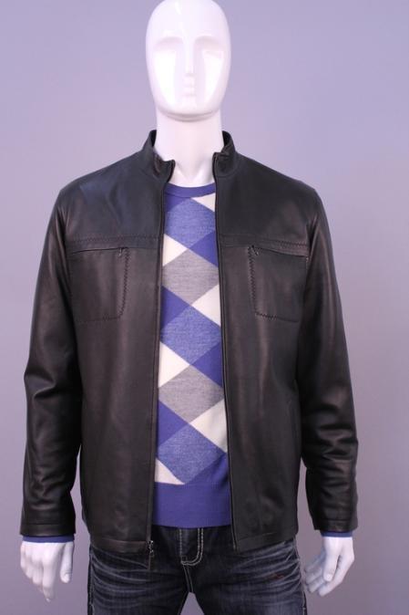 SKU#LO1988 Jackets & Outwear Black $199