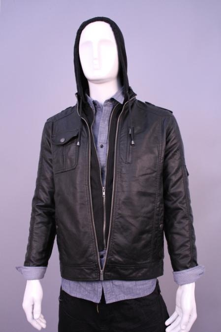 SKU#LK5589 Jackets & Outwear Black $199
