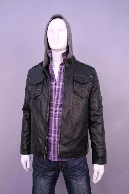 SKU#HF9630 Jackets & Outwear Black $199