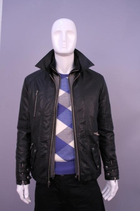 SKU#PT6689 Jackets & Outwear Black $199