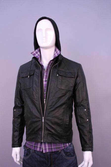 SKU#MA2031 Jackets & Outwear Black $199