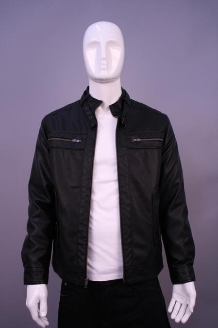 SKU#HE9874 Jackets & Outwear Black $199