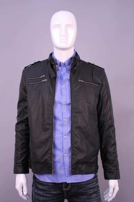 SKU#JM5892 Jackets & Outwear Black $199