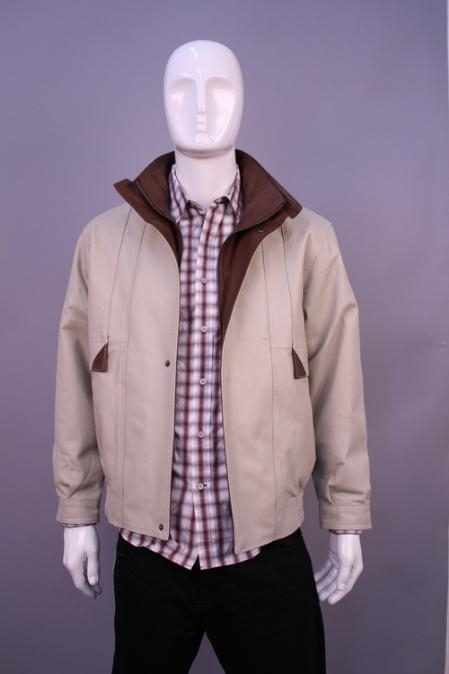 SKU#TD9699 Jackets & Outwear Bone $199