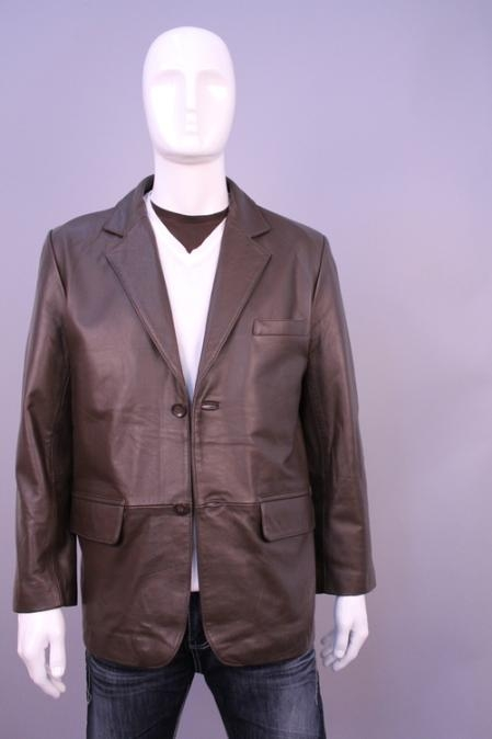 SKU#KU5567 Jackets & Outwear Brown