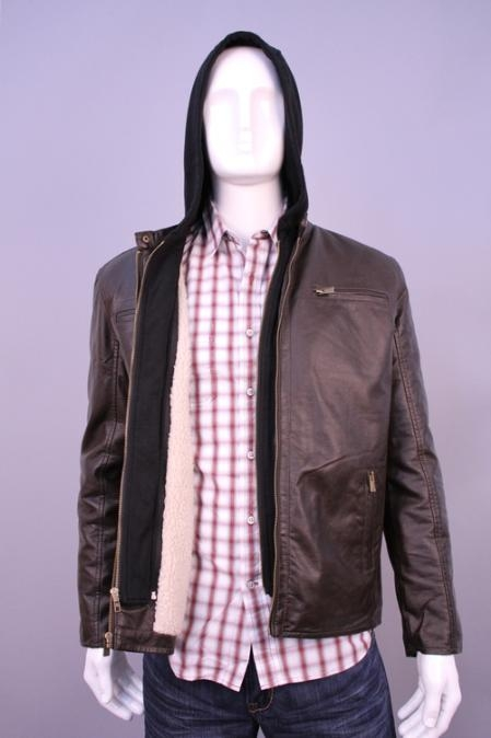 SKU#BJ5899 Jackets & Outwear Brown $199