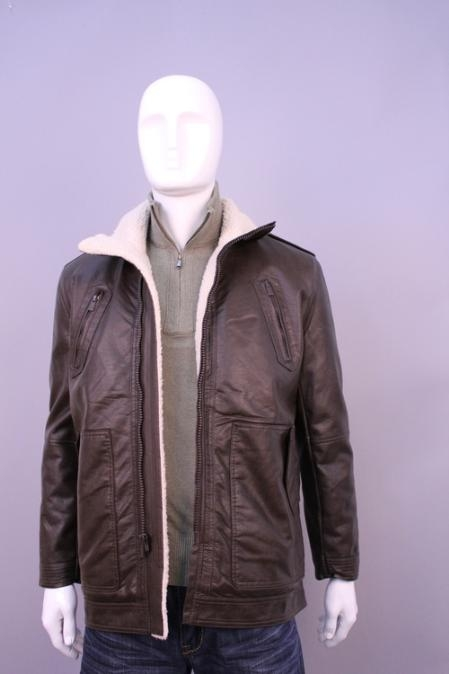 SKU#GV4458 Jackets & outwear Brown $199